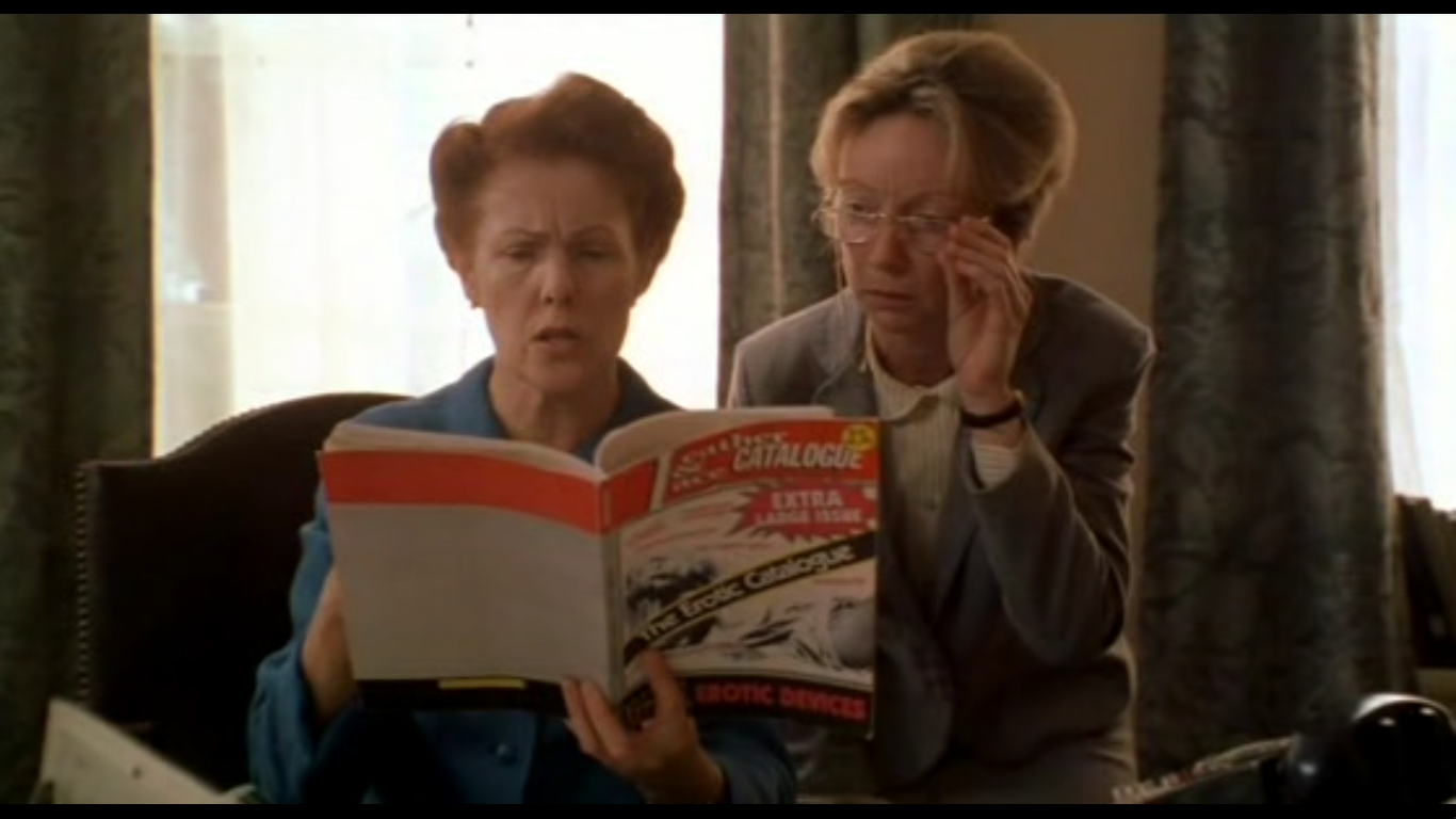 It is utterly necessary for me to include a screen cap of Miss McVane (Lynn